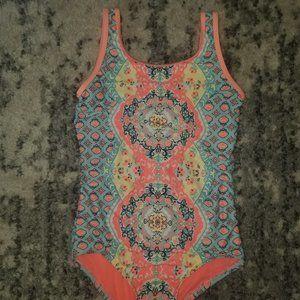 Justice One-piece Swimsuit -- EUC